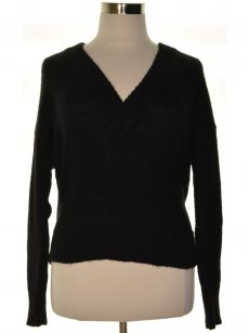 Bar III Women Size XL Black Pullover Sweater