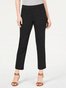Style & Co. Women Size XS Black Cropped Pants