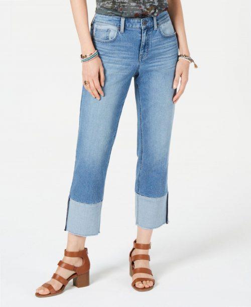 Style & Co. Women Size 6 Blue Straight Leg Jeans
