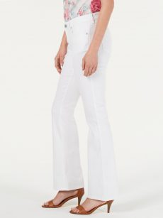 Style & Co. Women Size 14 S White Bootcut Jeans