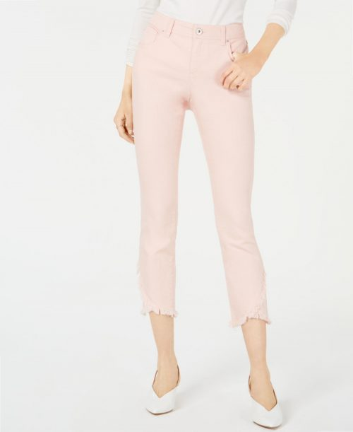 INC Women Size 18 Pink Skinny-Leg Jeans