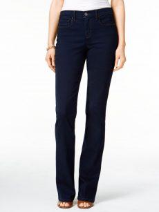Style & Co. Women Size 2 Dark Blue Boot-Leg Jeans