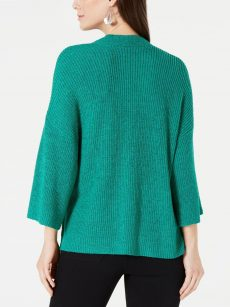 Style & Co. Women Size Small S Green Cardigan Sweater