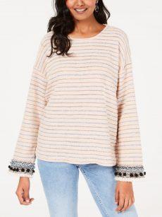Style & Co. Women Size XS Pink Sweatshirt Sweater