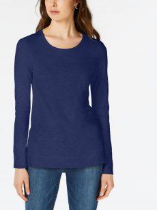 Maison Jules Women Size XS Navy T-Shirt Top