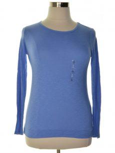 Maison Jules Women Size XL Blue Pullover Top