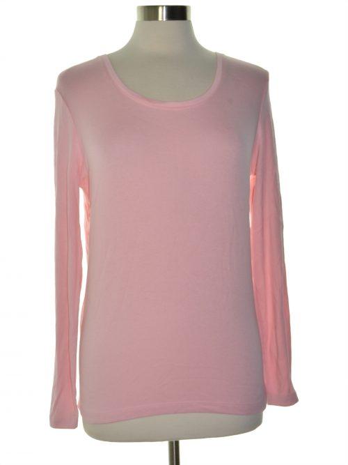 Maison Jules Women Size Medium M Pink Knit Top