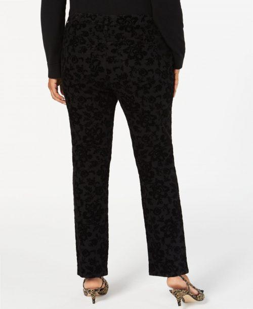 Charter Club Plus Size 26W Black Straight Leg Jeans