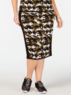 Michael Kors Plus Size 3X Multi Pencil Skirt