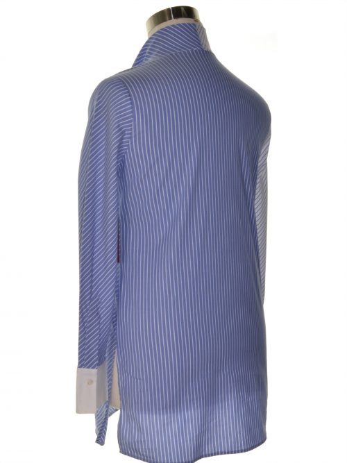 Vince Camuto Women Size Small S White Blue Tunic Dress