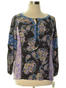 Style & Co. Plus Size 0X Multi Pullover Top