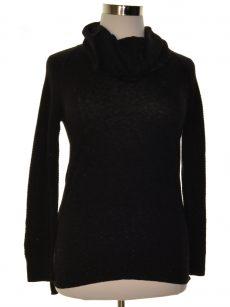 Style & Co. Women Size Medium M Black Pullover Sweater