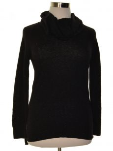 Style & Co. Women Size XL Black Pullover Sweater
