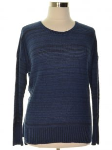 Style & Co. Women Size XL Blue Pullover Sweater