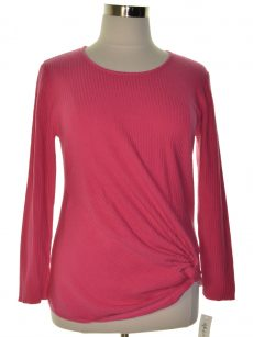Style & Co. Women Size Medium M Pink Pullover Sweater