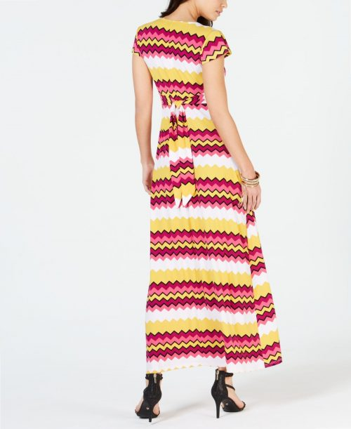 Thalia Sodi Women Size Small S Black White Maxi Dress