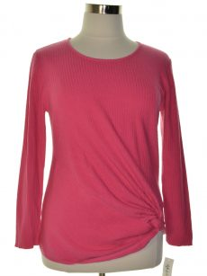 Style & Co. Women Size XL Pink Pullover Sweater