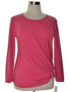 Style & Co. Women Size Small S Pink Pullover Sweater