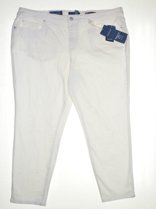 Charter Club Women Size 16 White Skinny-Leg Jeans