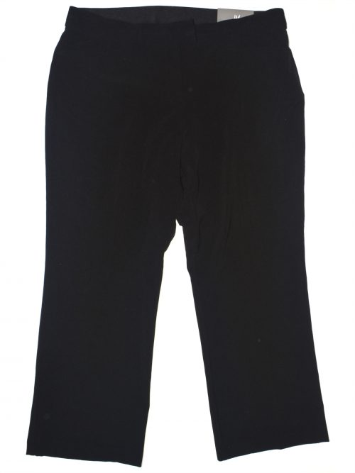 JM Collection Petites Size 4P Black Trousers Pants