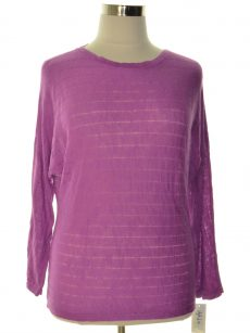 Style & Co. Women Size XL Purple Sweatshirt Sweater