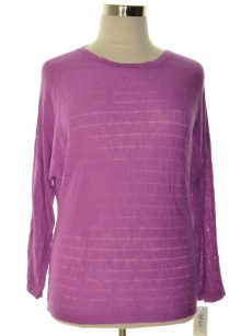 Style & Co. Women Size Medium M Purple Sweatshirt Sweater