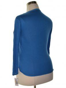 INC Petites Size PM Royal Blue Henley Top