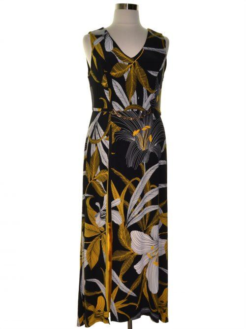 Thalia Sodi Women Size Large L Black Maxi Dress