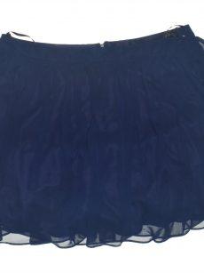 B. Darlin Juniors Size 15/16 Navy Blue Pleated Skirt