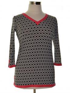 Charter Club Women Size XS Black Tunic Top