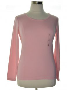 Maison Jules Women Size Small S Pink Pullover Top