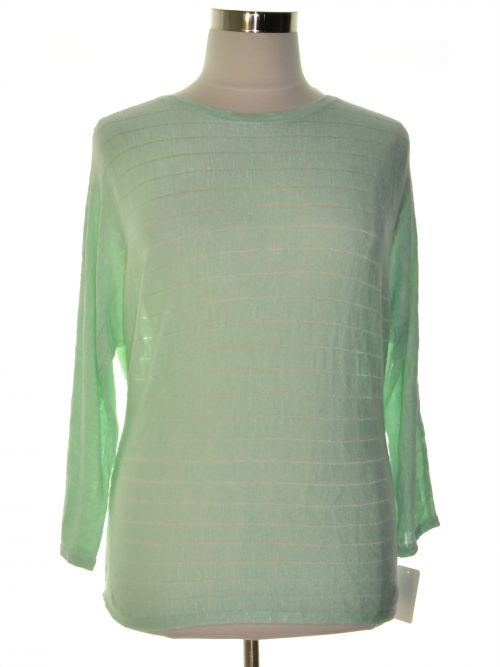 Style & Co. Women Size Medium M Mint Sweatshirt Sweater