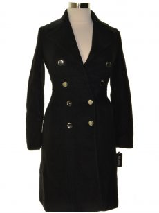 Guess Women Size Small S Black Peacoat Jacket