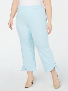 Alfani Plus Size 20W Light Blue Ankle Pants