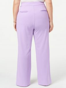 INC Plus Size 24W Lavender Wide Leg Pants