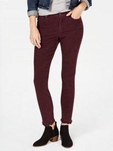 Style & Co. Petites Size 2P Wine Ultra Skinny Pants