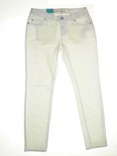 INC Women Size 10 White Skinny-Leg Jeans