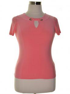 Tommy Hilfiger Women Size XL Peach Pullover Top