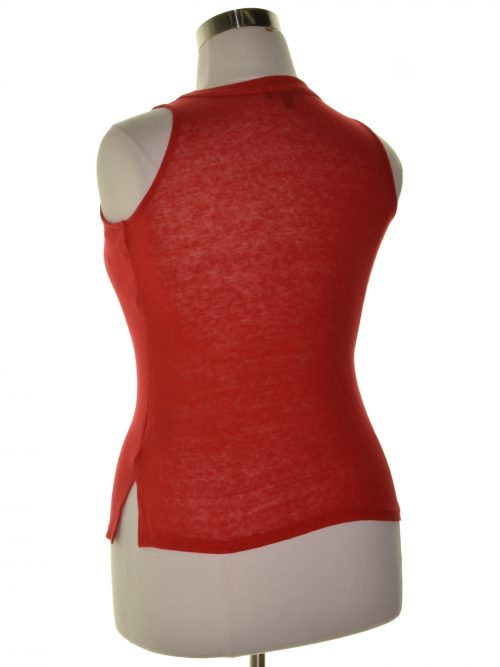 INC Petites Size PP Red Tank Top