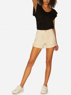 Sanctuary Women Size 30 Cream Chino Shorts Pants