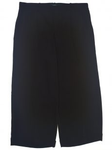 Ralph Lauren Women Size 12 Black Straight-Leg Pants