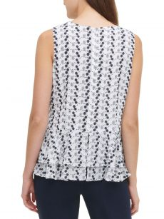 Tommy Hilfiger Women Size Medium M White Tank Top