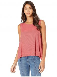Free People Women Size Small S Dark Red Tank Top