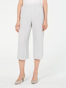 Alfani Women Size XL Gray Culottes Pants