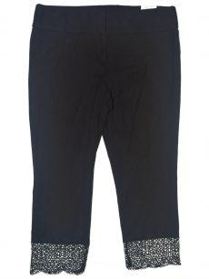 Alfani Petites Size 14P Black Slim-Leg Pants