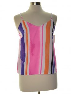 Bar III Women Size Small S Multi Tank Top