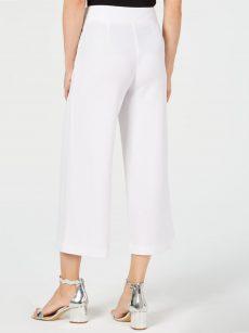 INC Women Size 18 White Culottes Pants