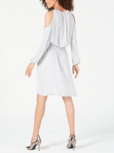 Alfani Women Size XXL Silver Shift Dress