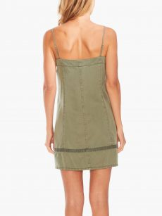 Two By Vince Camuto Women Size XL Green Tank Dress