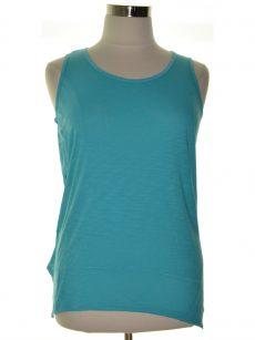 Style & Co. Women Size Medium M Turquoise Tank Top